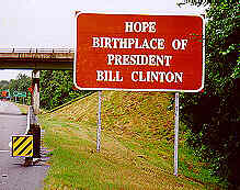Hope Clinton Sign