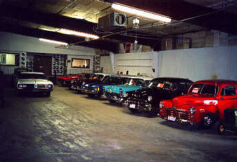 The Garage at the Good Old Time Automobile Museum