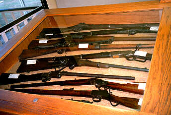 Gun Collection at the Automobile Museum