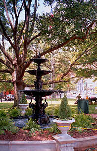 The Herman Davis Memorial Fountain
