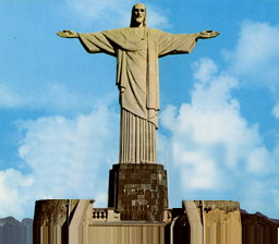Statue of Christ in Rio -- fifteen stories high
