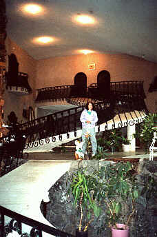 Interior of Miracle Mansion