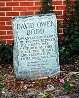 Monument Marking Location of Dodd's Capture
